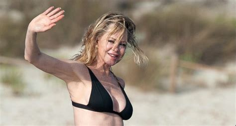 Melanie Griffith Shows Off Her Bikini Body on a Boat in Spain