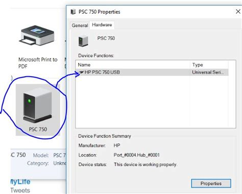 I Can't Install an old USB HP PSC printer to my Win 10