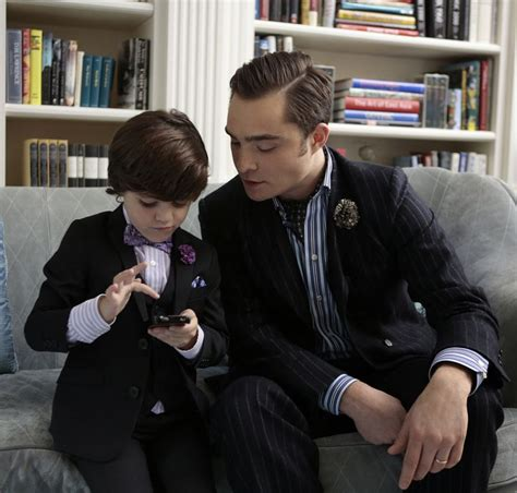 Chuck and Henry Bass Chill in Gossip Girl Series Finale